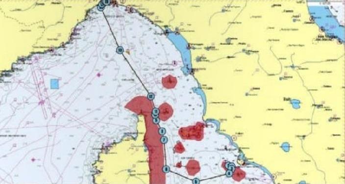 rotta rimozione nave costa concordia isola del giglio