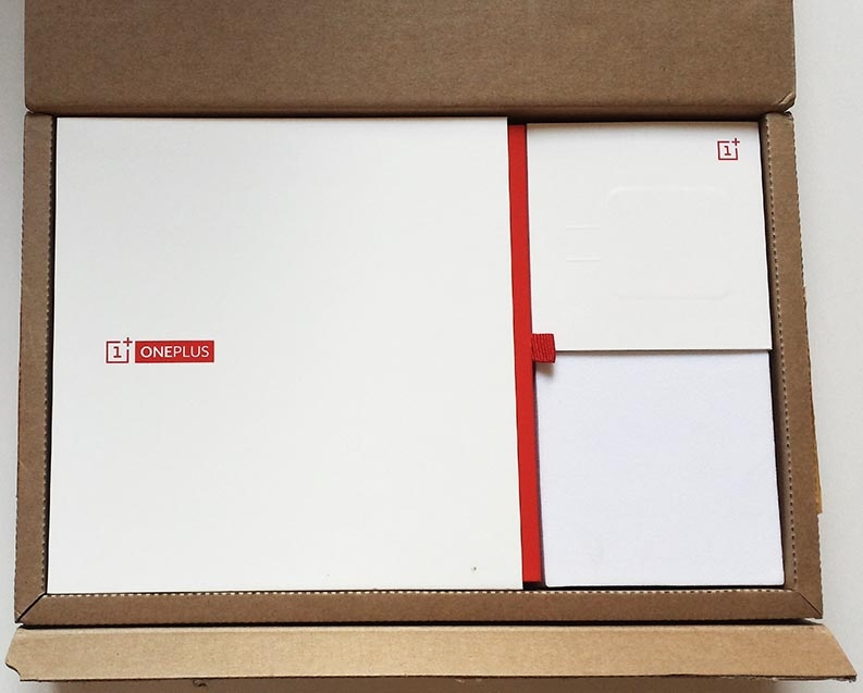 unboxing oneplus one