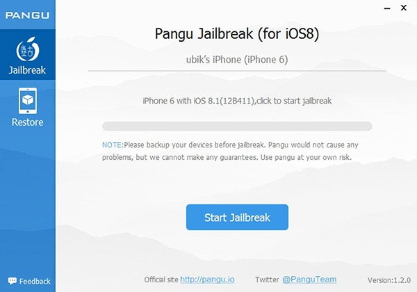 Jailbreak iOS iPhone6