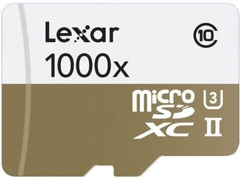 Lexar 1000x Micro SD
