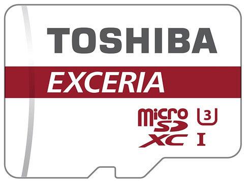 Toshiba Exceria Micro SD