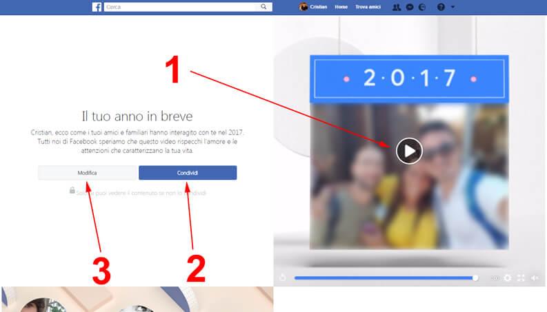 come fare l anno in breve facebook