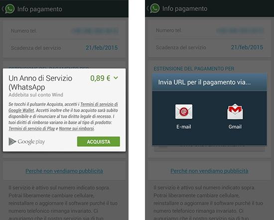 come-rinnovare-whatsapp-google-wallet-invio-url-pagamento