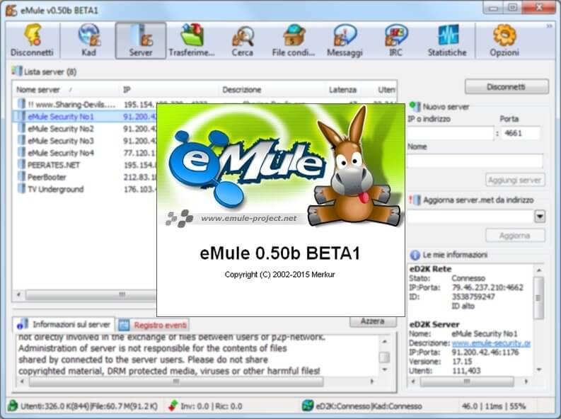 emule ultima versione gratis italiano