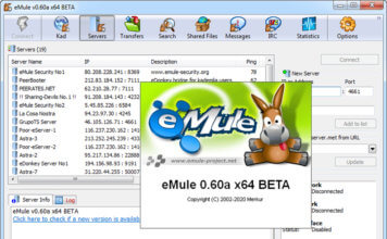 EMULE 0.60a RC DOWNLOAD ULTIMA VERSIONE 2021