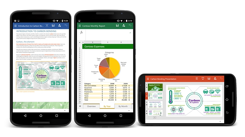 Office-per-smartphone-Android