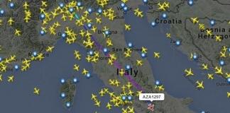 rotte dei voli aerei in tempo reale