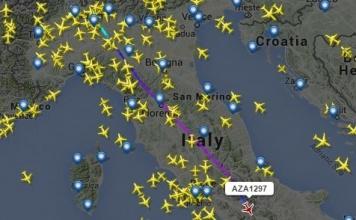 Vedere e Seguire le rotte dei voli aerei in tempo reale su Google Maps