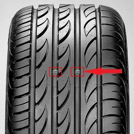 quando cambiare pneumatici, barrette di usura battistrada pneumatico
