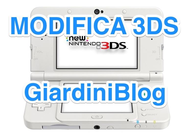 modifica 3ds n3ds