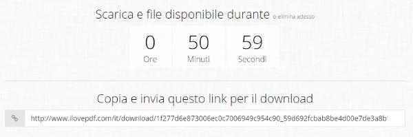 scaricare file pdf