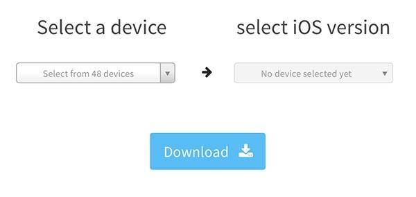 ipsw firmware download