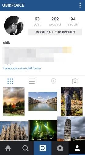 Instagram su PC passo 9