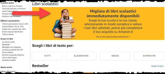 Amazon Libri Scolastici 2021