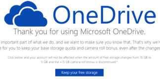 OneDrive come non perdere 15gb spazio