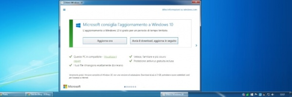 come eliminare notifica windows 10