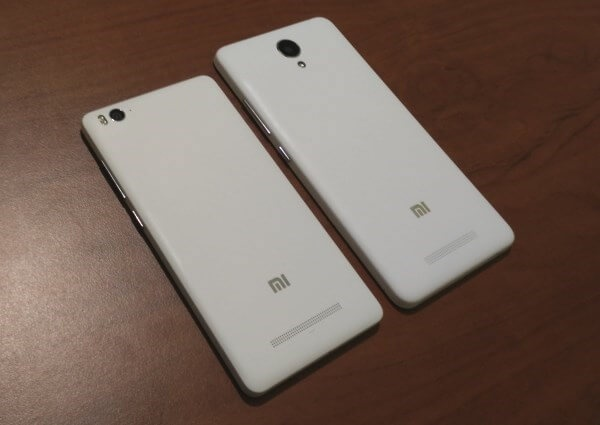 differenza xiaomi mi4c redmi note 2
