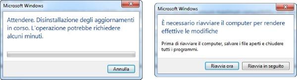 riavviare windows