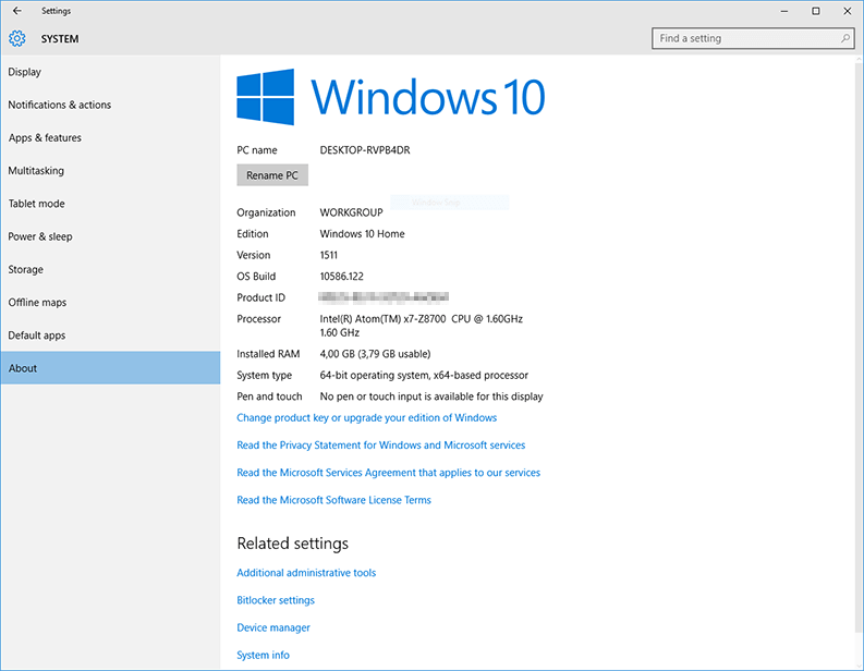 voyo v3 windows 10 attivato