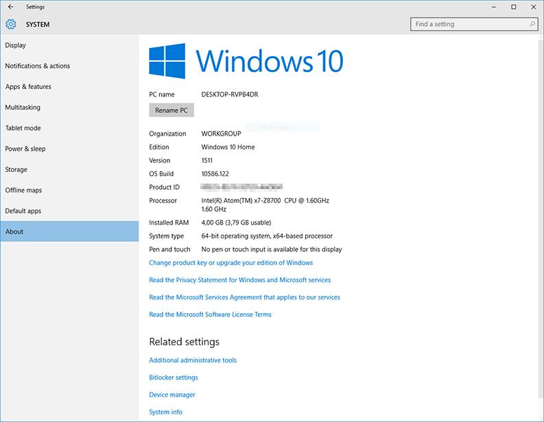 voyo v3 windows 10 attivato