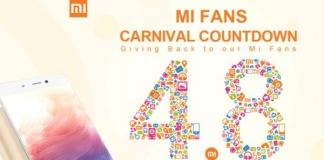 Xiaomi mi fans carnival