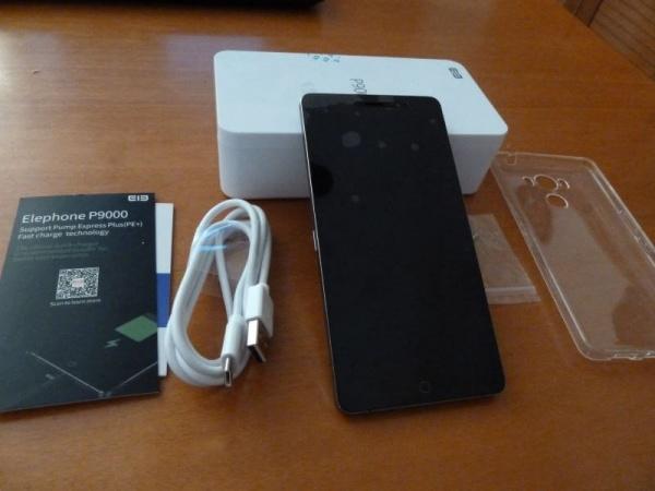 elephone p9000 unboxing