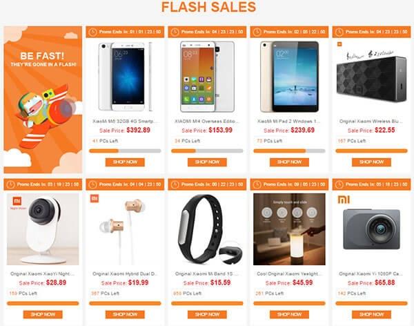 flash sales gearbest