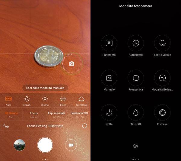 Xiaomi mi5 fotocamera