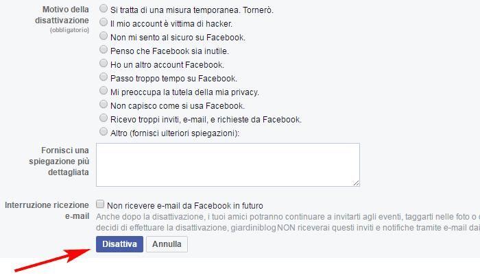 come-eliminare-account-facebook-disattiva
