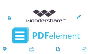 Creare, modificare e convertire pdf con PDFelement