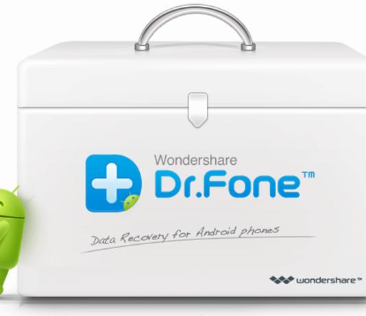 Recuperare dati smartphone Android dr fone