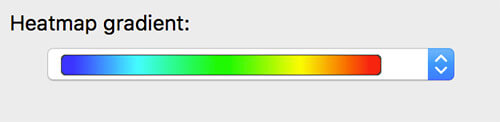 heatmap per potenza wifi