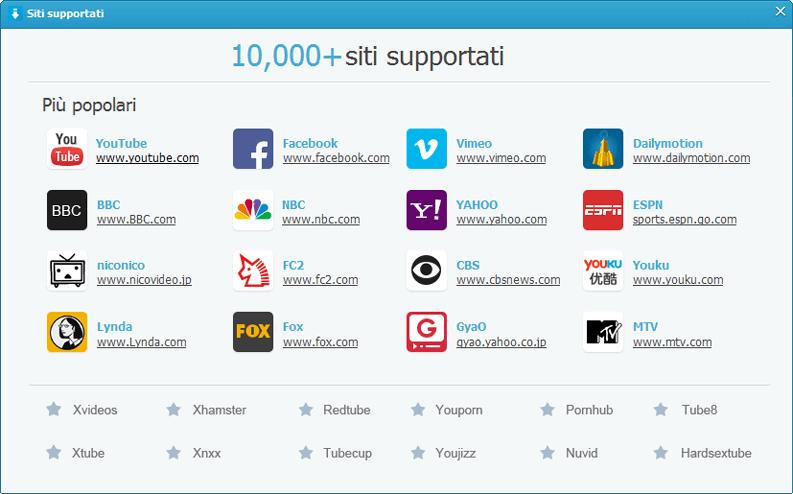 keepvid pro siti supportati