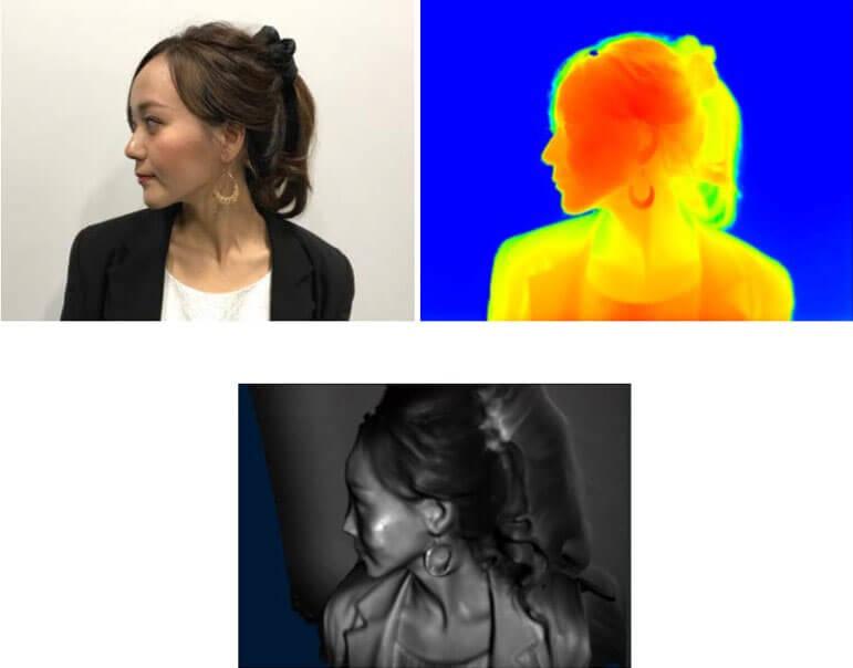 sensore tof soggetto a infrarossi fotocamera