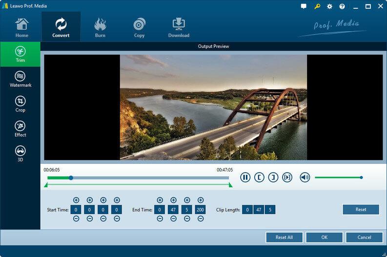 leawo-blu-ray-ripper-modificare-video