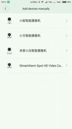 impostazioni in cinese della smart camera ip