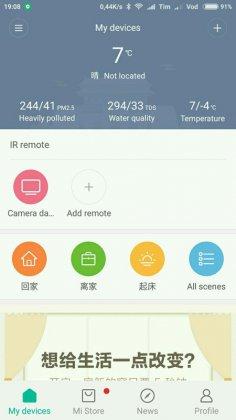 aggiornamenti firmware xiaomi ip camera