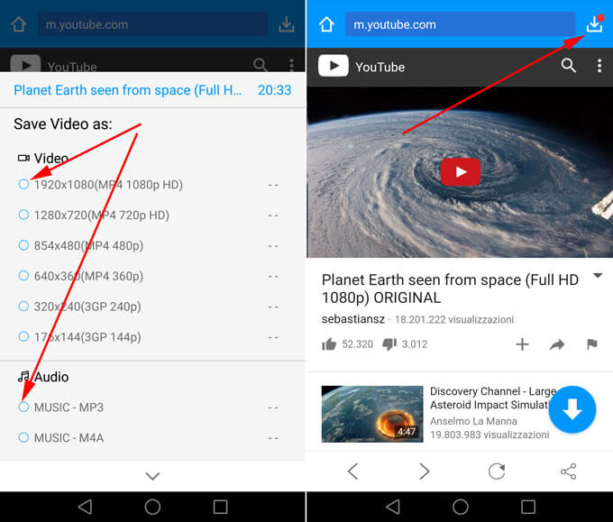 app per scaricare video da youtube