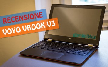 Recensione Voyo VBook V3 Apollo Lake