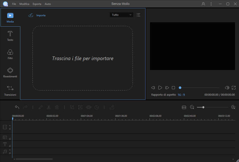 creare e modificare video con ApowerEdit importare video