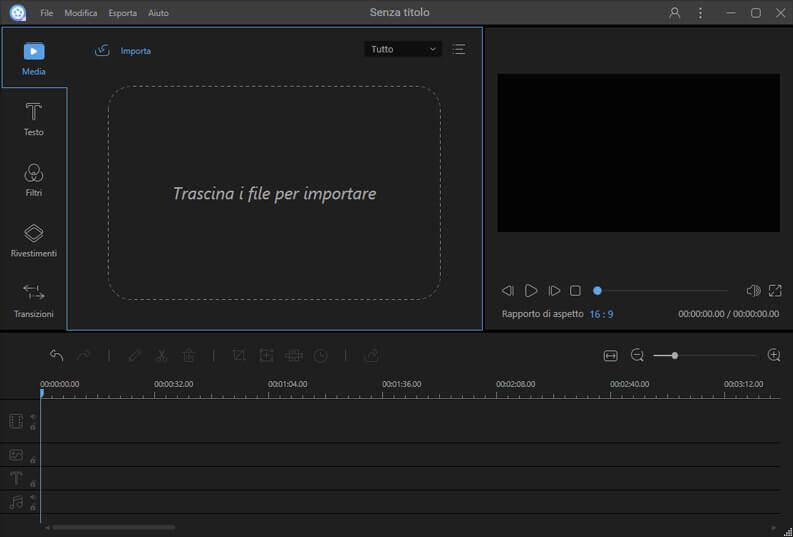 creare e modificare video con ApowerEdit importare video