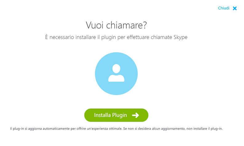 skype per il web e chiamate gratis