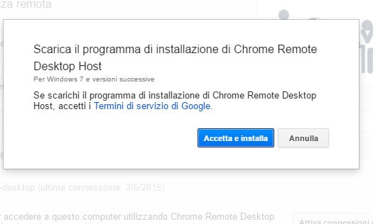 Come controllare il pc da android
