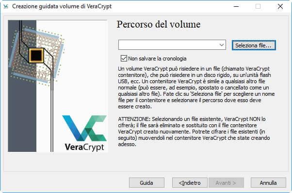 Come proteggere una cartella con password