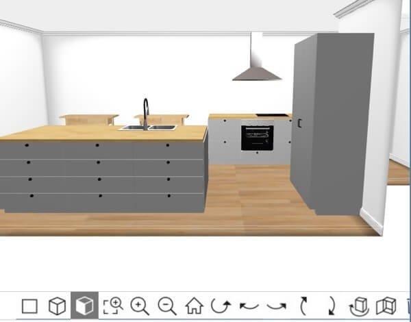 Come Progettare Una Cucina In 3d. Cool Awesome Progettare Cucina ...