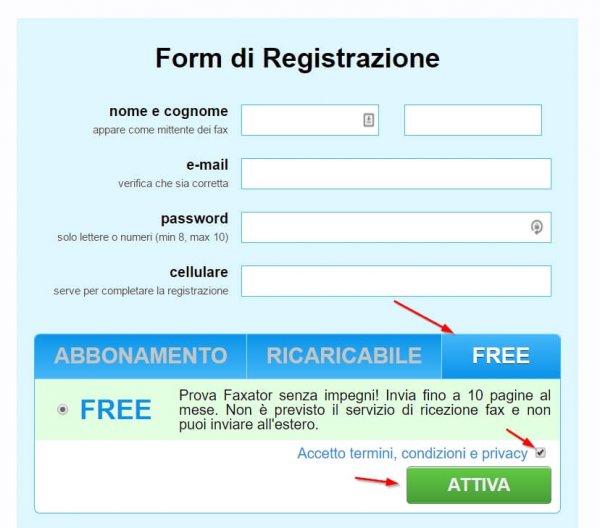 Inviare Fax Online-3