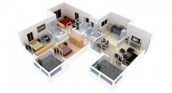 Come progettare una casa in 3d for Programmi 3d gratuiti