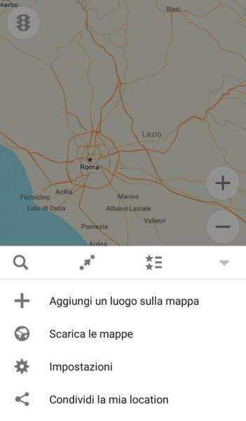 scaricare mappe maps me