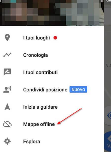 navigatore android google maps