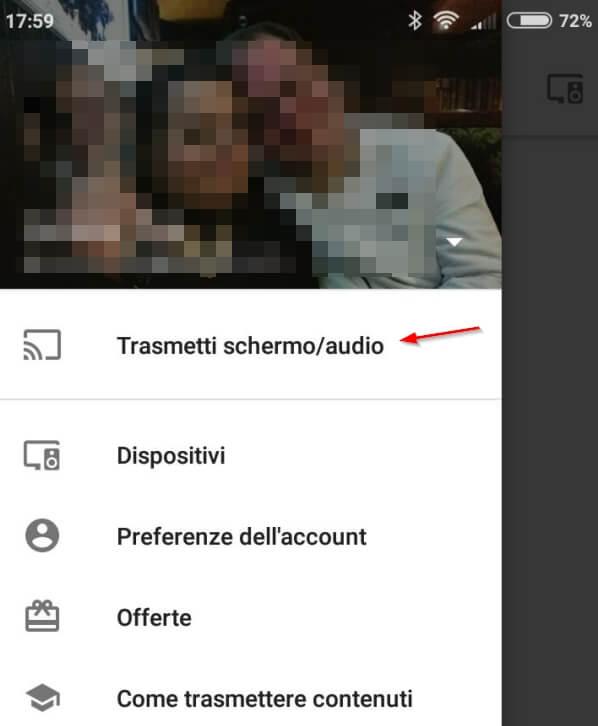 Come utilizzare Chromecast